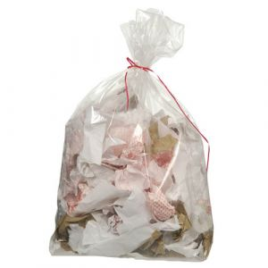Lot de 200 sacs poubelle 110L transparent