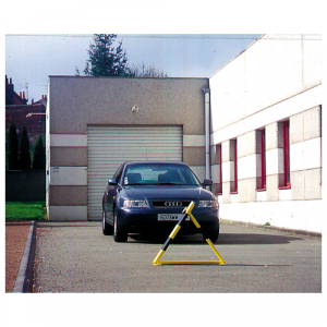 Barrière de parking triangulaire
