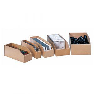 Bac à bec en carton (lot de 50 pces) - 4,9L