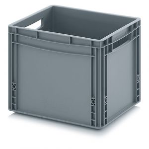 Bac plastique norme Europe - poignées ouvertes -20  L