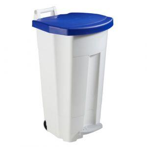Poubelles mobiles à pédale 90 litres