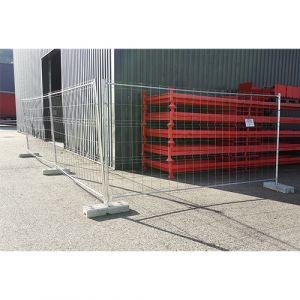 Barrière/Clôture de chantier 4 tubes
