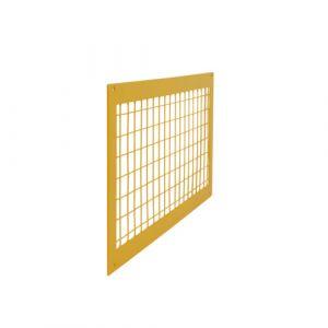 Protections grillagées par barrière modulable