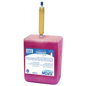 6 recharges de  savon liquide rose nacré - 0.90 litres