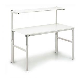 Table de travail avec étagère 1200x700mm