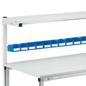 Rail porte bacs pour table légère 1800mm
