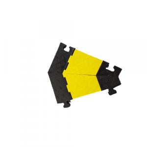 Passe câble industriel- angle à 45° -h=45 mm