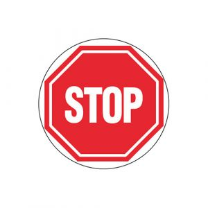 Panneau interdiction - Stop
