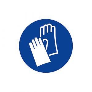 Panneau obligation - Gants de protection