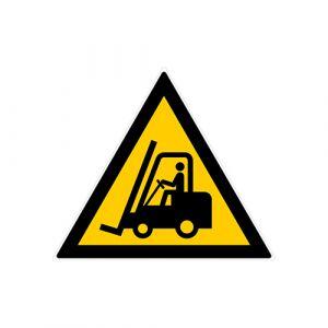 Panneau danger - Chariots élévateurs et véhicules industriels