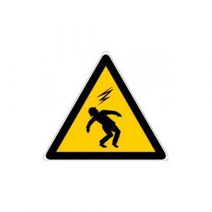 Panneau danger - Risque d'électrocution