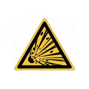 Panneau danger - Matières explosives