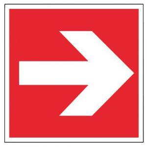 Panneaux incendie - Flèche