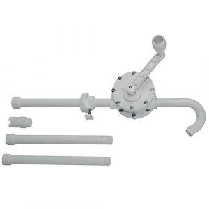 Pompe manuelle rotative Huile et fluide pour fût 210 L