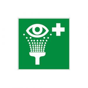 Panneau secours - Rinçage yeux
