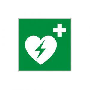 Panneau secours - Défibrillateur automatique