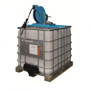Unité fixe de distribution d'huile sur IBC à pompe