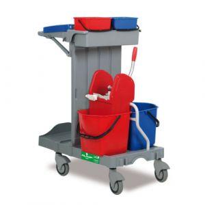 Chariot de lavage compact