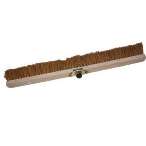 Balai en bois - fibre coco