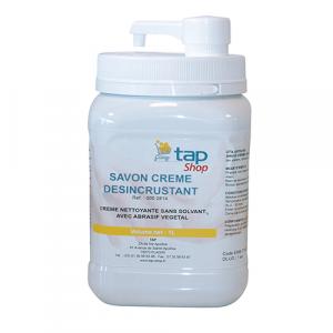 Savon gel végétal avec abrasif - pompe intégrée