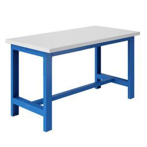 Établi - 1500x750mm Bleu industrie