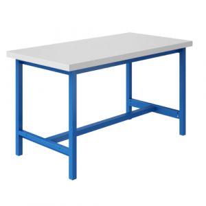 Établi mi lourd - 1500x750mm Bleu industrie