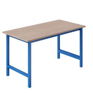 Établi Léger- 1500x750mm Bleu industrie