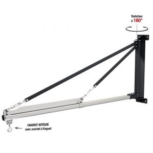 Potence murale porte outils - charge 125 kg