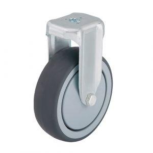 Roulette d'appareil fixe à trou central