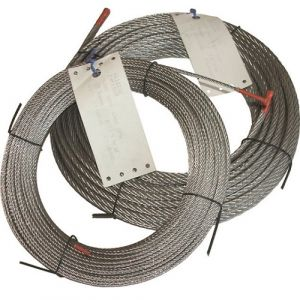 Câble galva 7x7 en couronne - 100m