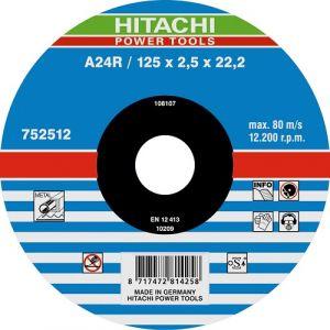 25 disques à tronçonner A24R pour métal 125mm