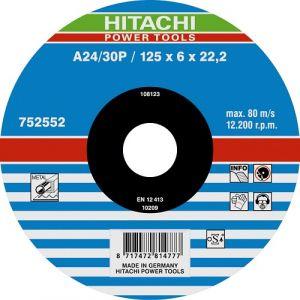 Lot de 25 disques à ébarber pour métal A24/30P 125mm