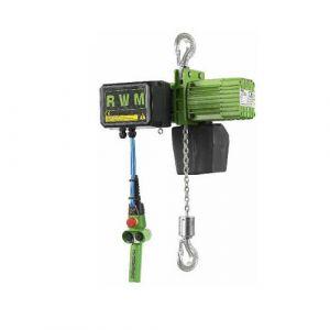 Palan électrique suspendu par crochets - 24 V - 125 kg