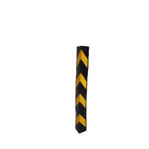 Profilé d'angle en caoutchouc à arrête droite