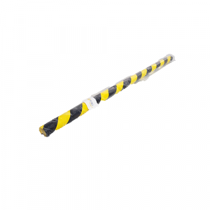 Protection souple d'angle - jaune/noir - 1m