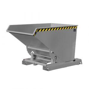 Benne basculante système dérouleur Automatique 1200L -Gris