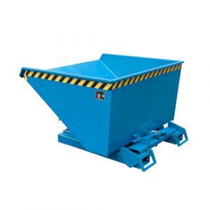 Benne basculante à système dérouleur, Automatique, 900 L - bleu