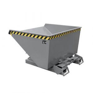Benne basculante à système dérouleur, Automatique, 900 L - gris