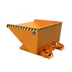 Benne basculante à système dérouleur, Automatique, 900 L - Orange