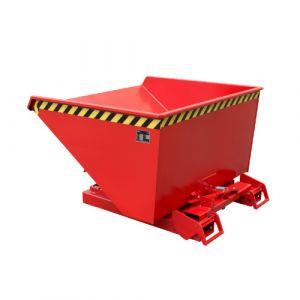 Benne basculante à système dérouleur, Automatique, 900 L - Rouge