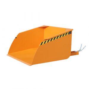 Pelle pour chariot élévateur, 1000 L - orange