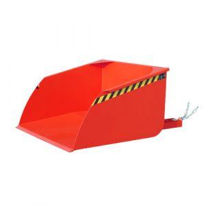 Pelle pour chariot élévateur, 1000 L - rouge