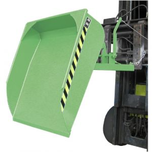 Pelle pour chariot élévateur, 500 L - vert