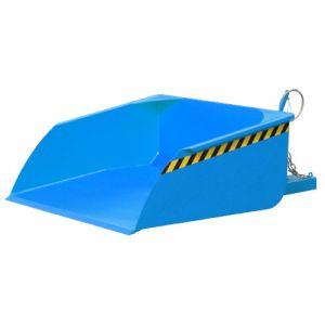 Pelle pour chariot élévateur, 750 L - bleu