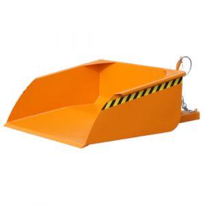 Pelle pour chariot élévateur, 750 L - orange