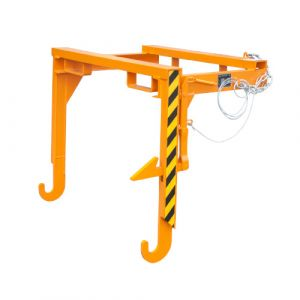 Palonnier de vidage pour benne basculante 90 L - orange