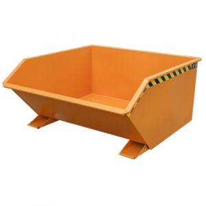 Benne basculante 750 L - orange