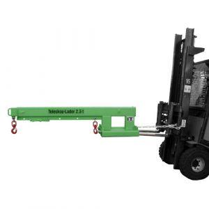 Chargeur télescopique 2500 kg - vert