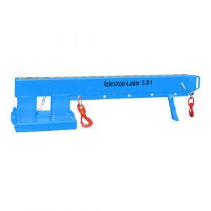 Chargeur télescopique 5000 kg - bleu