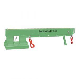 Chargeur télescopique 5000 kg - vert
